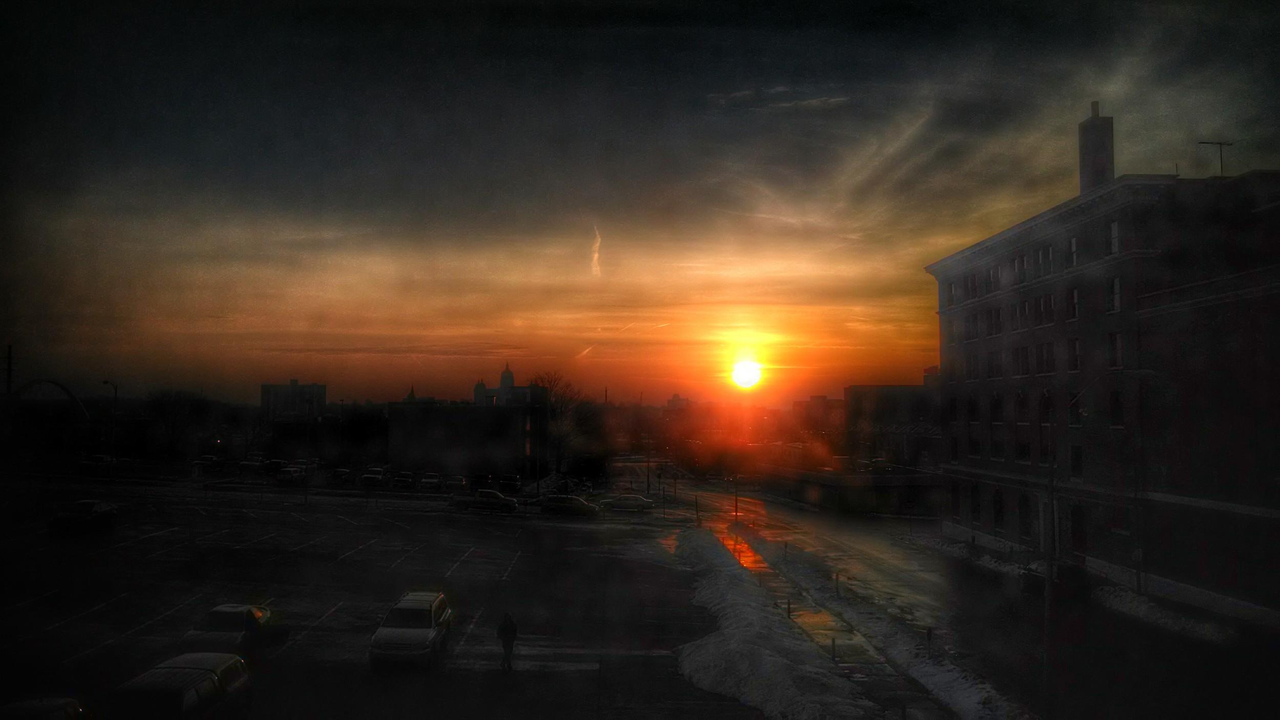 Des Moines Sunrise