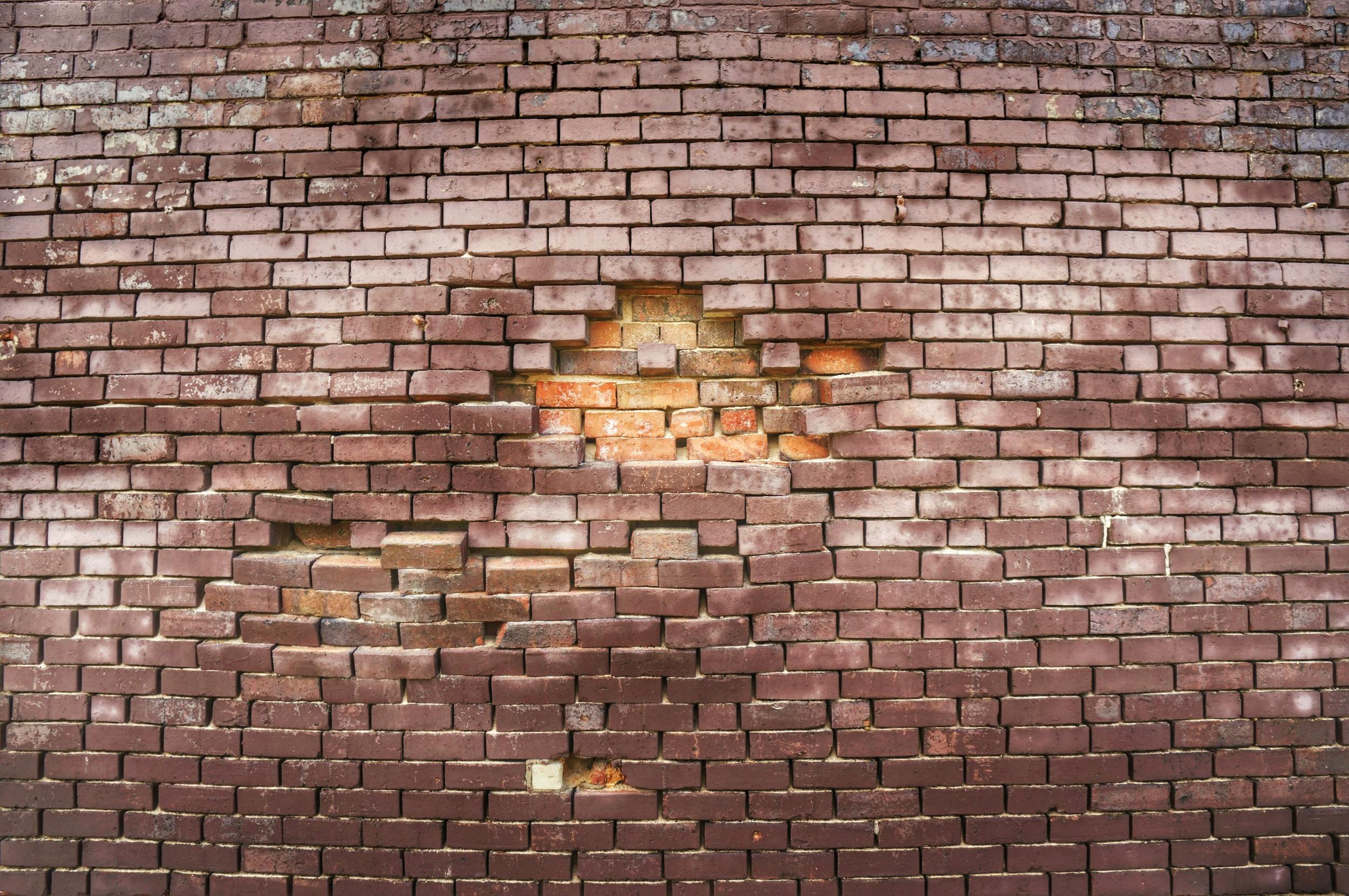 just a sweet ass brick wall