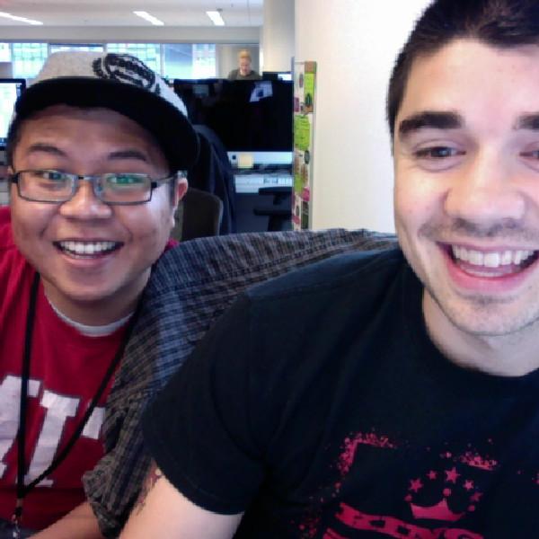 Derek and me
