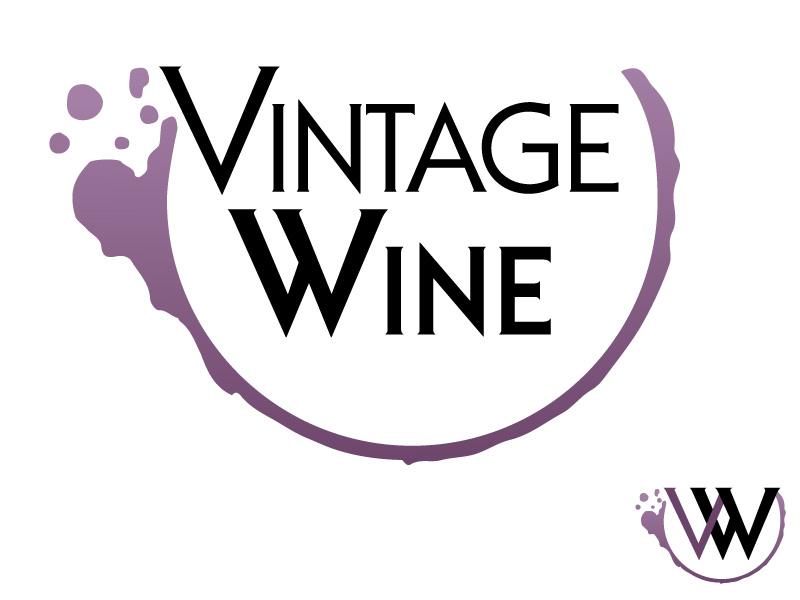 Vintage Wine logo concept #2