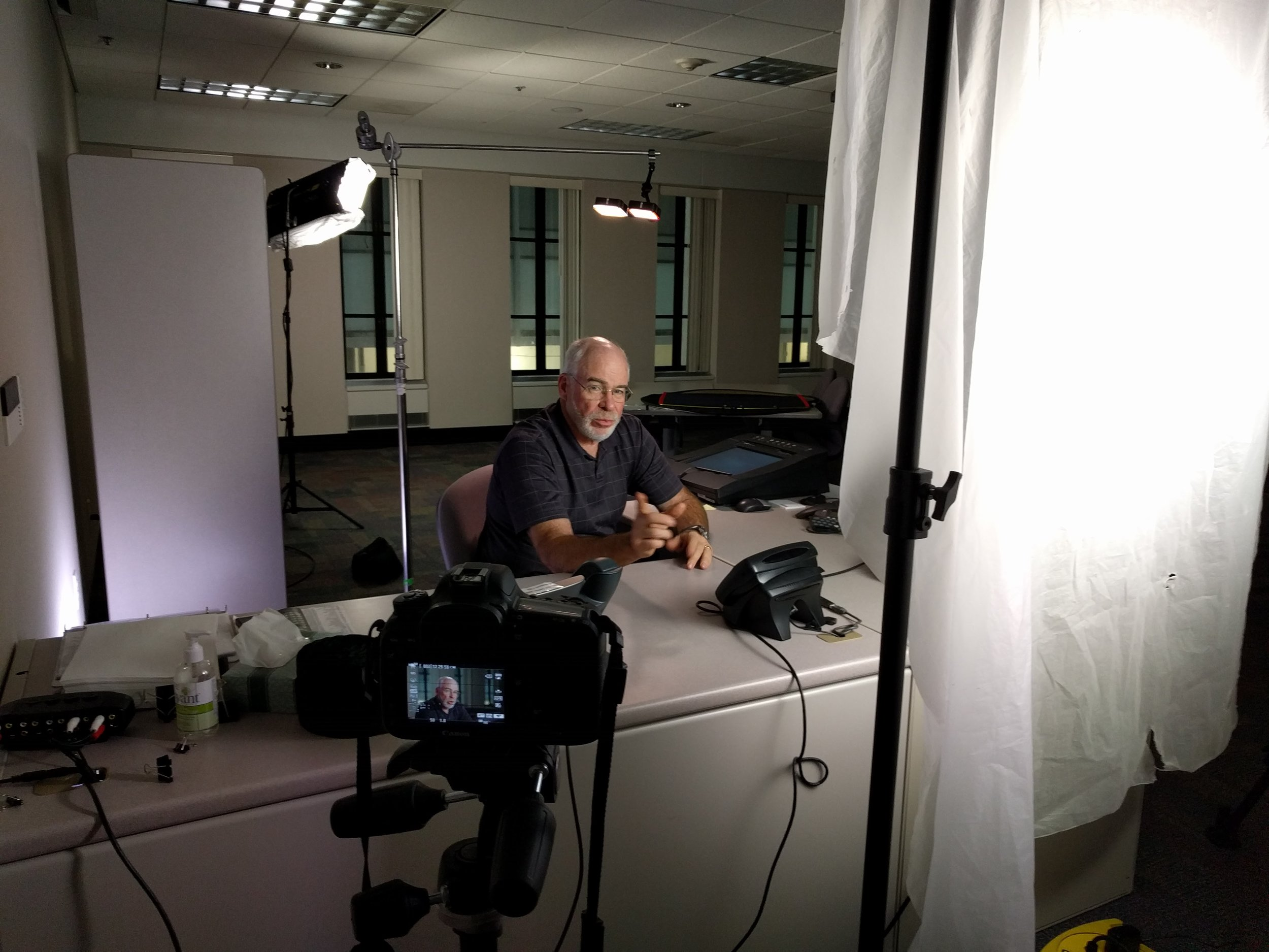 video and lighting training day