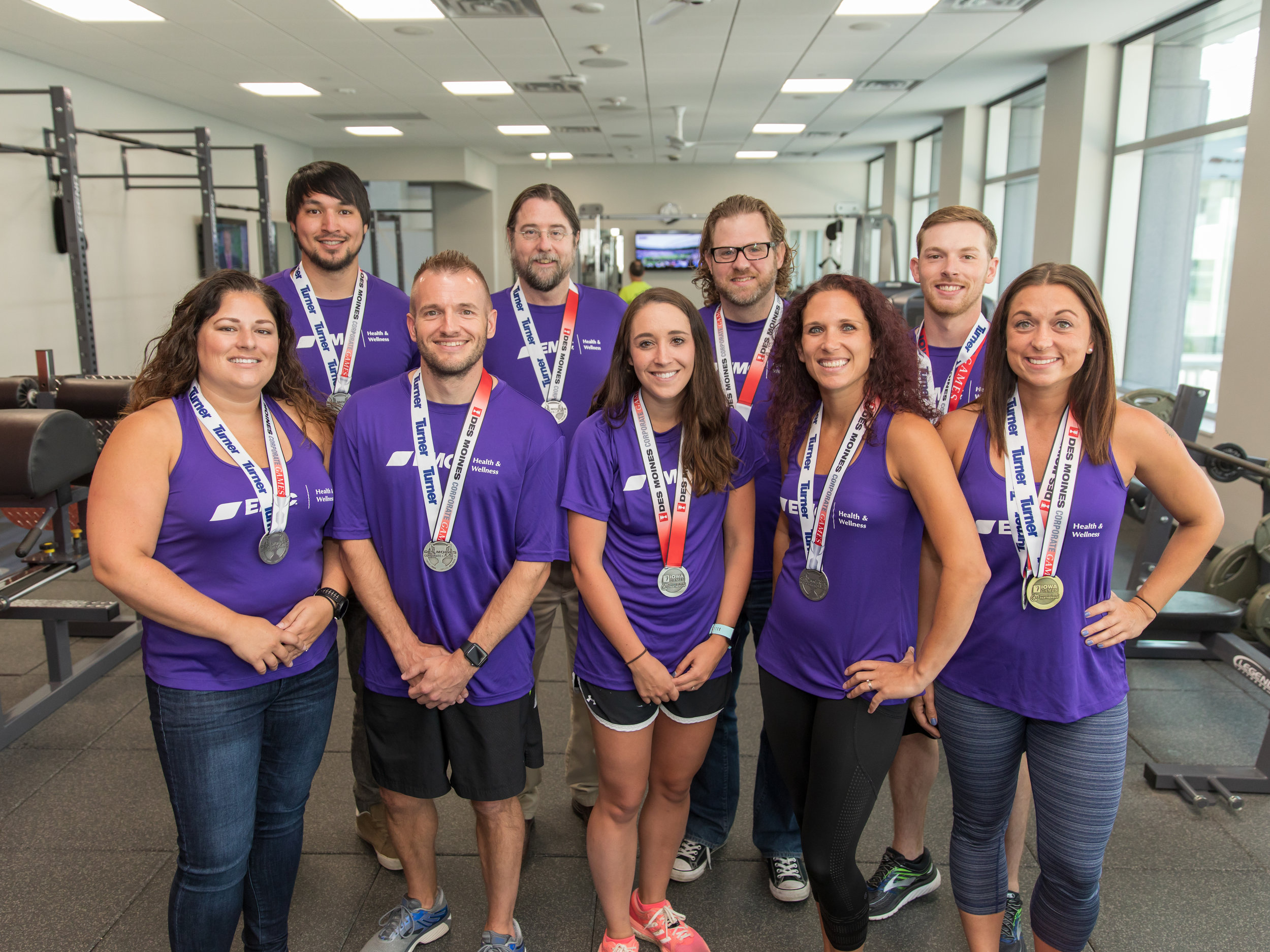 EMC's Corporate Games winners