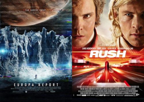 Två nya filmer den här veckan.