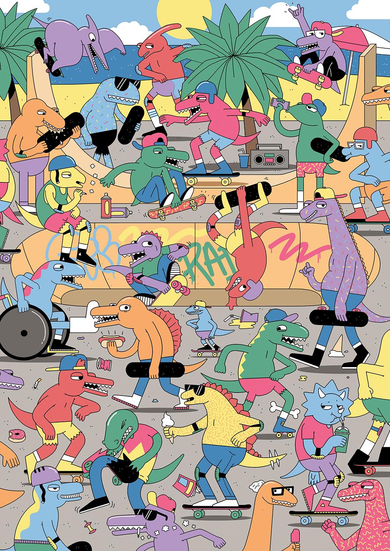 3 - Dan Woodger Jurassic Skate Park.jpg