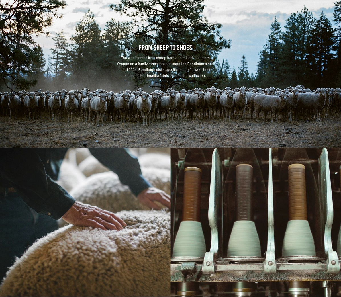 """Produced through Nike directly. Video and photos shot by Carissa and Andrew Gallo of  Sea Chant . Basically the Oregonian dream job. Got to go on some production adventures out to a sheep rancher's summer fields in Pendleton, Oregon. The best!"" (Click on the image to view more.)"