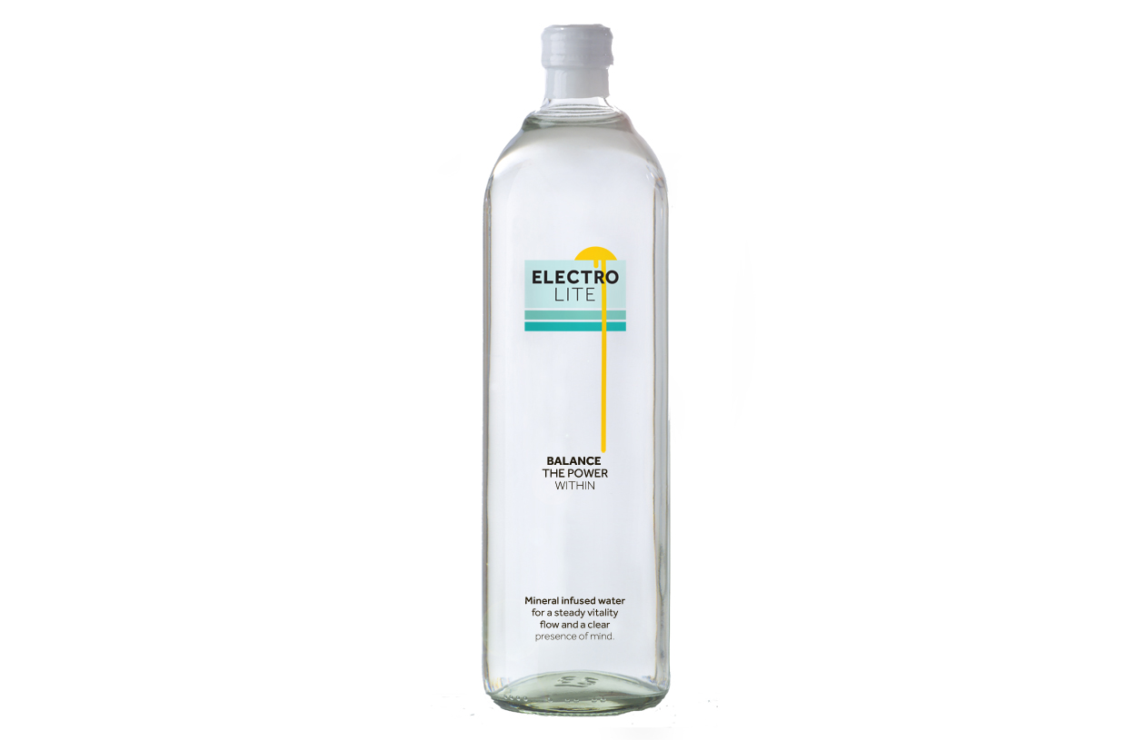 Soon to launch, personal project of electrolyte infused water.
