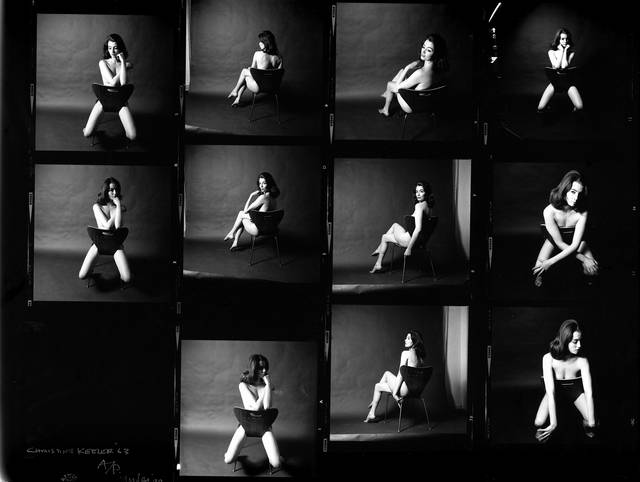 Christine Keeler, photographs by Lewis Morley, 1963. © Lewis Morley/National Media Museum/Science & Society Picture Library