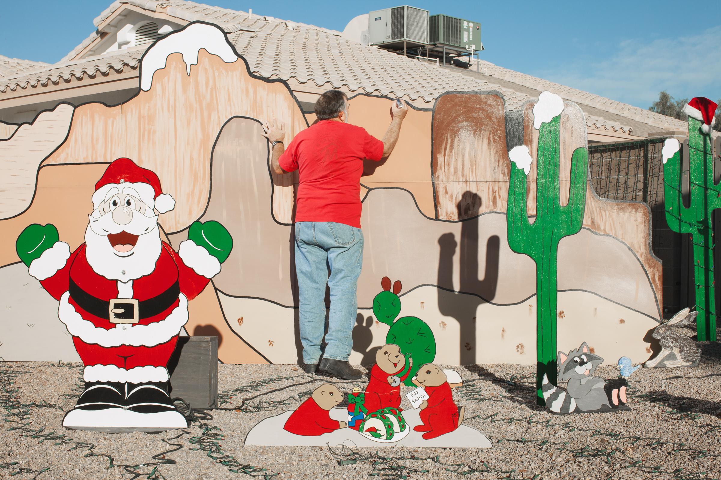 Grand Canyon Christmas.  Gilbert, AZ . 2012 Residence
