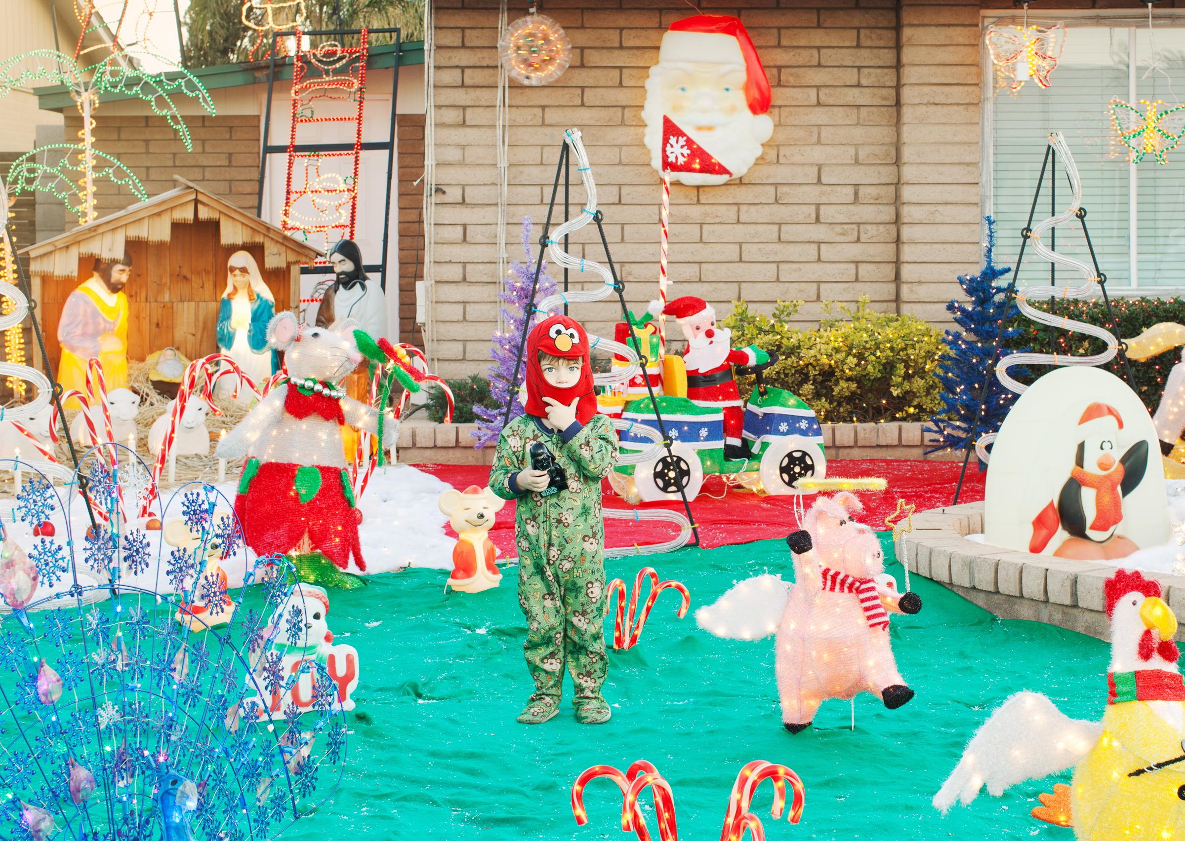 Christmas Morning.  Glendale, AZ . 2012 Residence