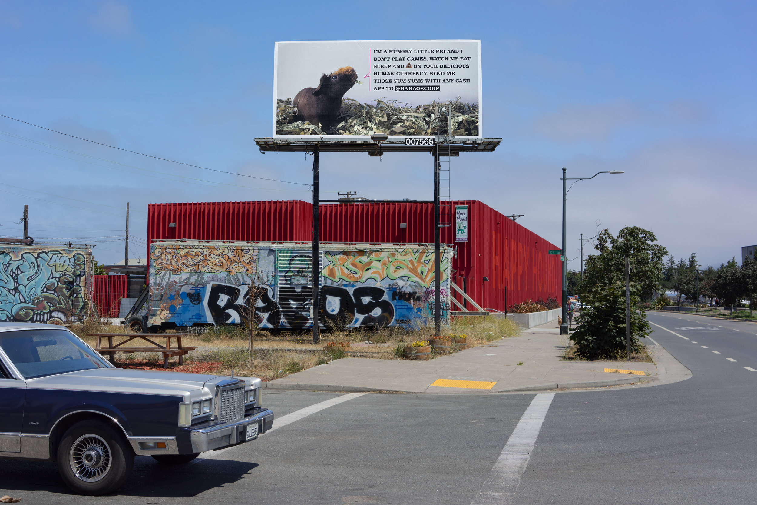 WNW MAGAZINE – 4 Creatives Are Renting a Billboard in