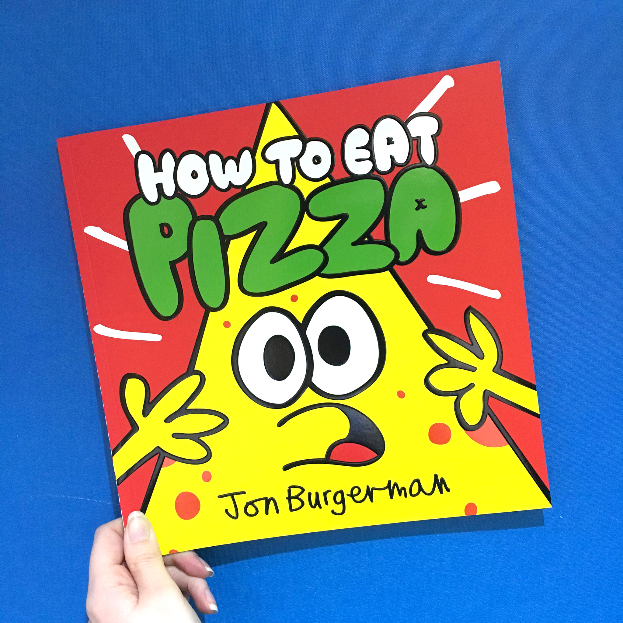 Buy How to Eat Pizza here