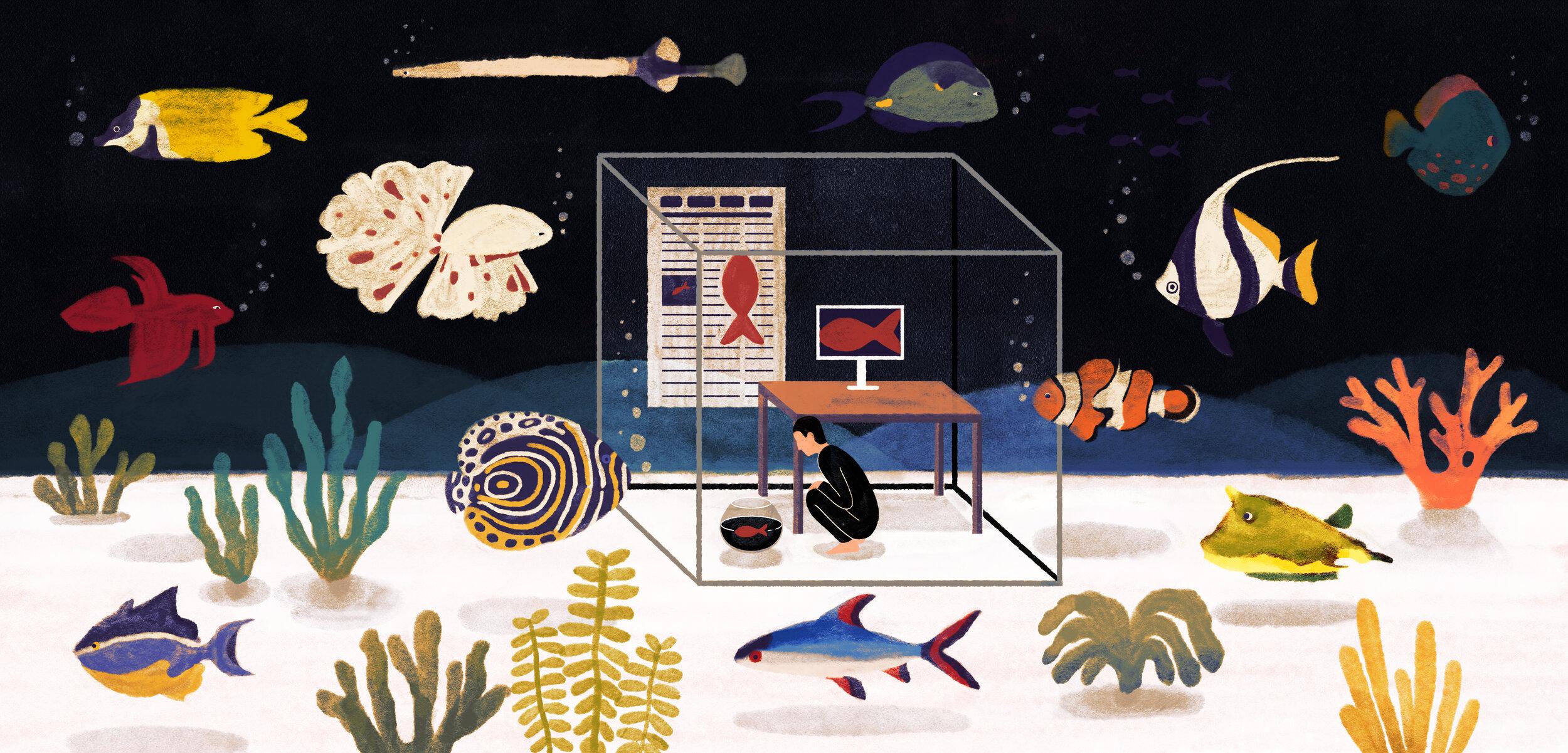 Illustration by WNW Member    Yifan Wu