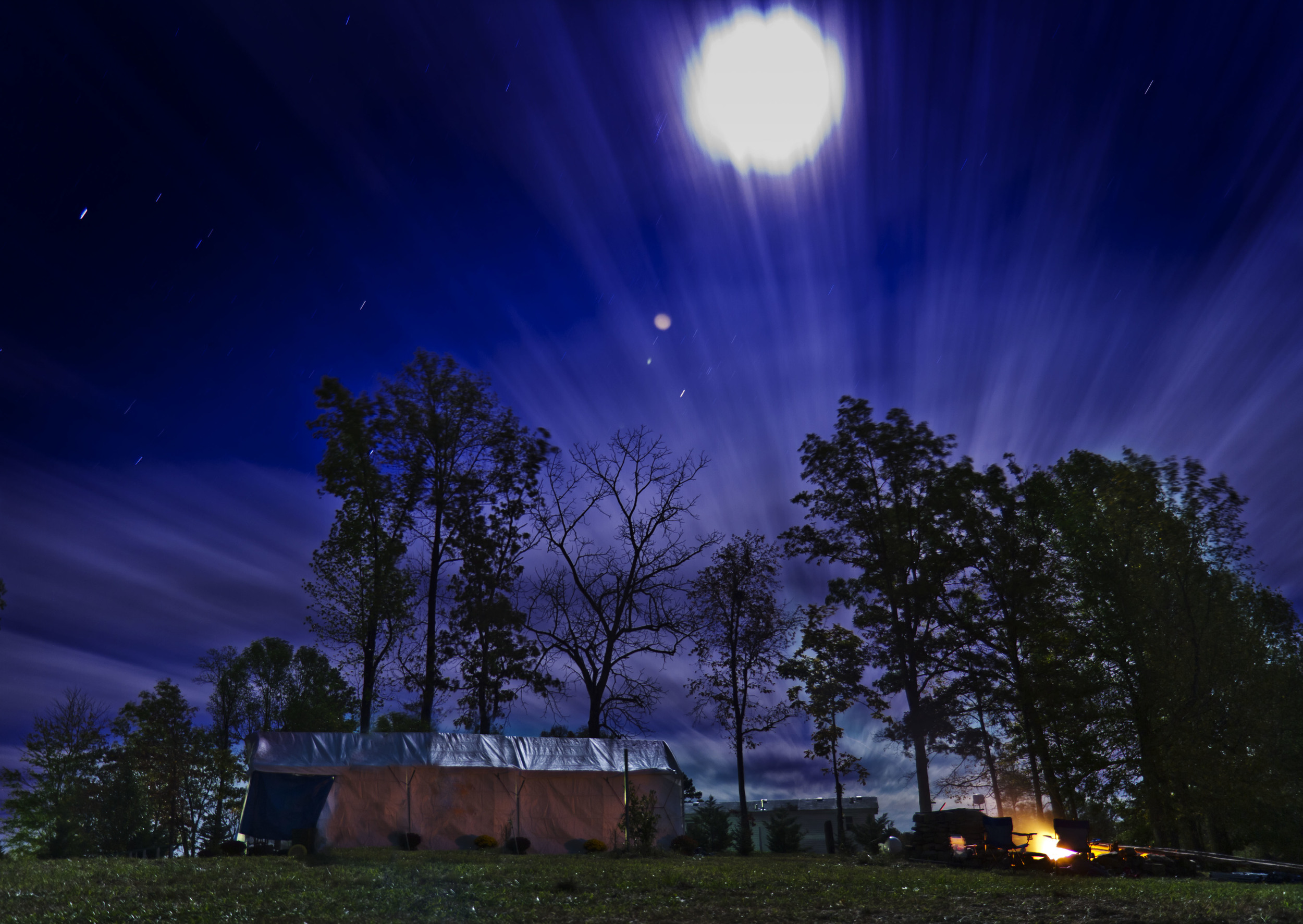 Theme: Random <br>Title: Night Sky