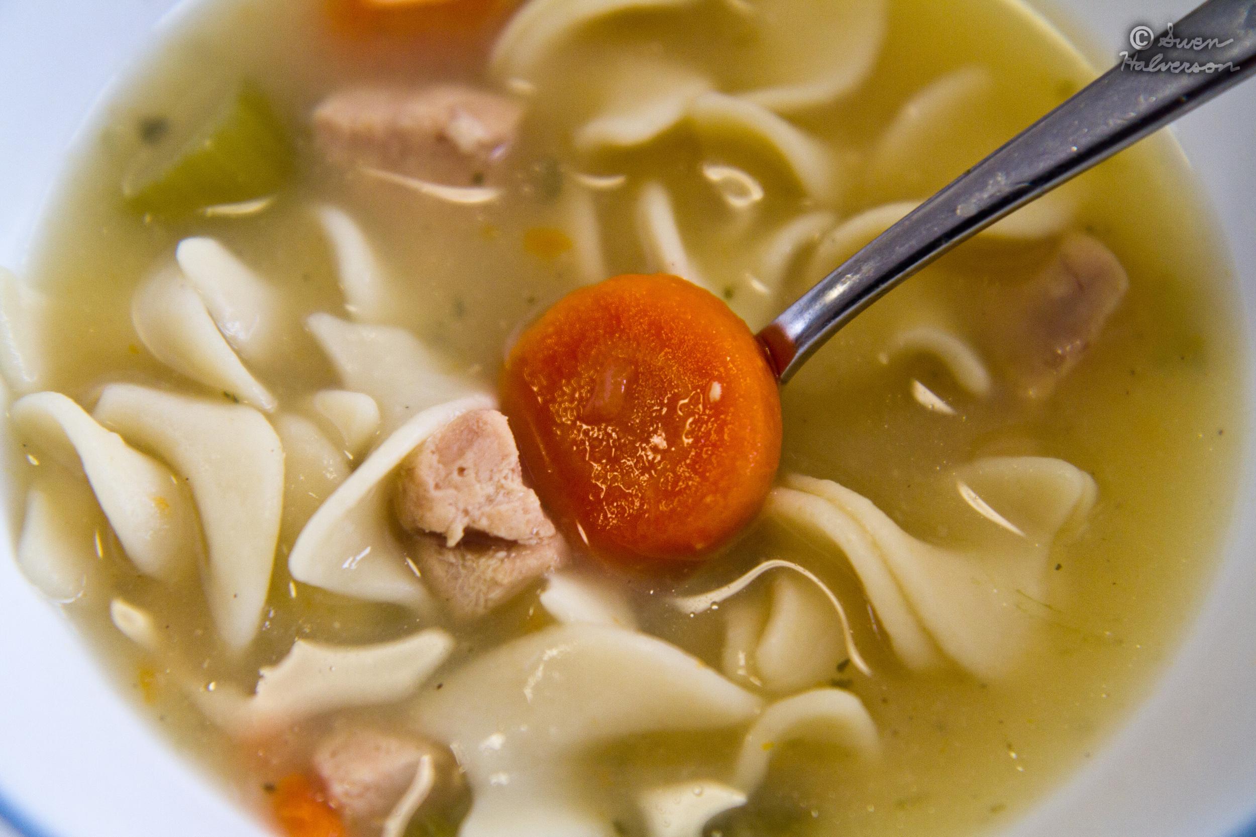 Theme: Soup  <br>Title: Chicken Noodle Soup 1