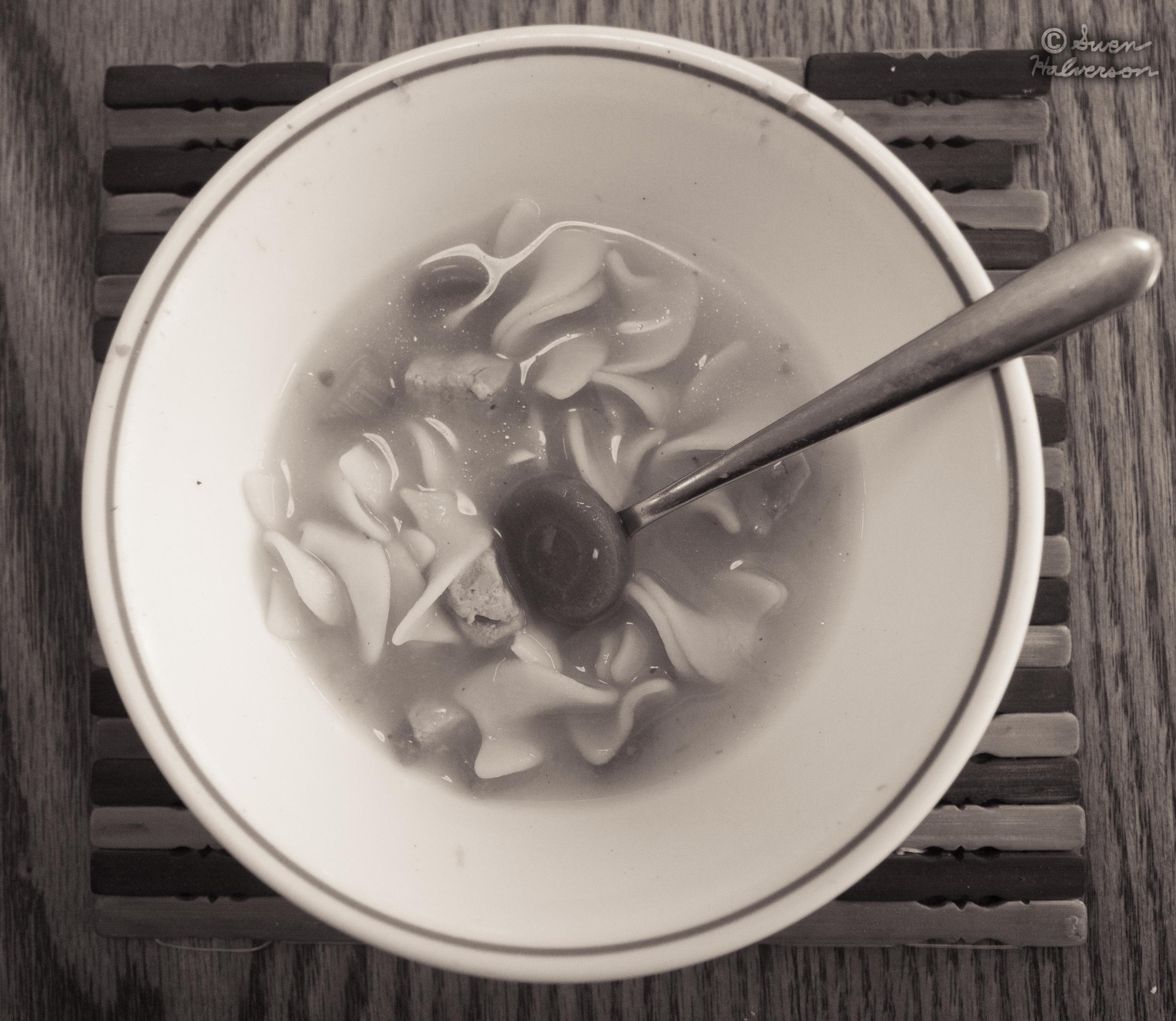 Theme: Soup  <br>Title: Chicken Noodle Soup 2