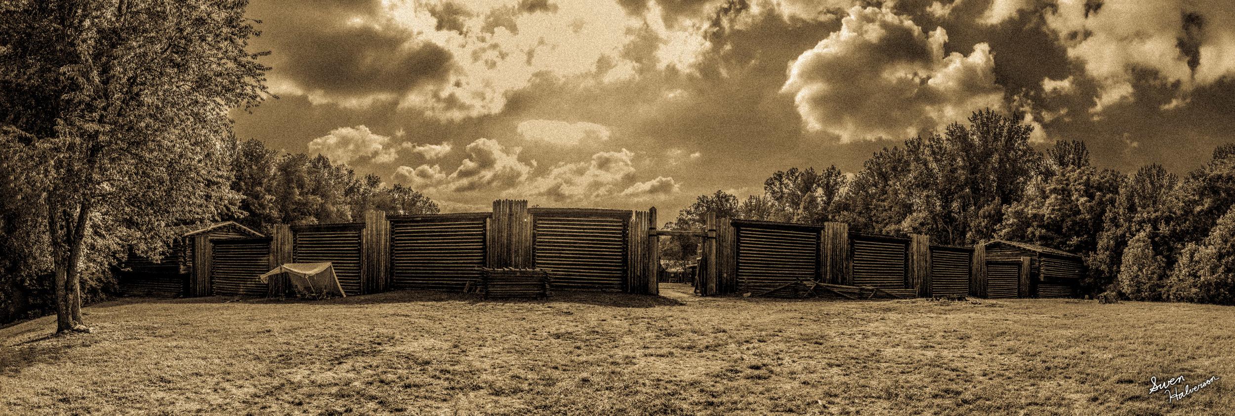 Theme: War <br>Title: Fort Boonesborough