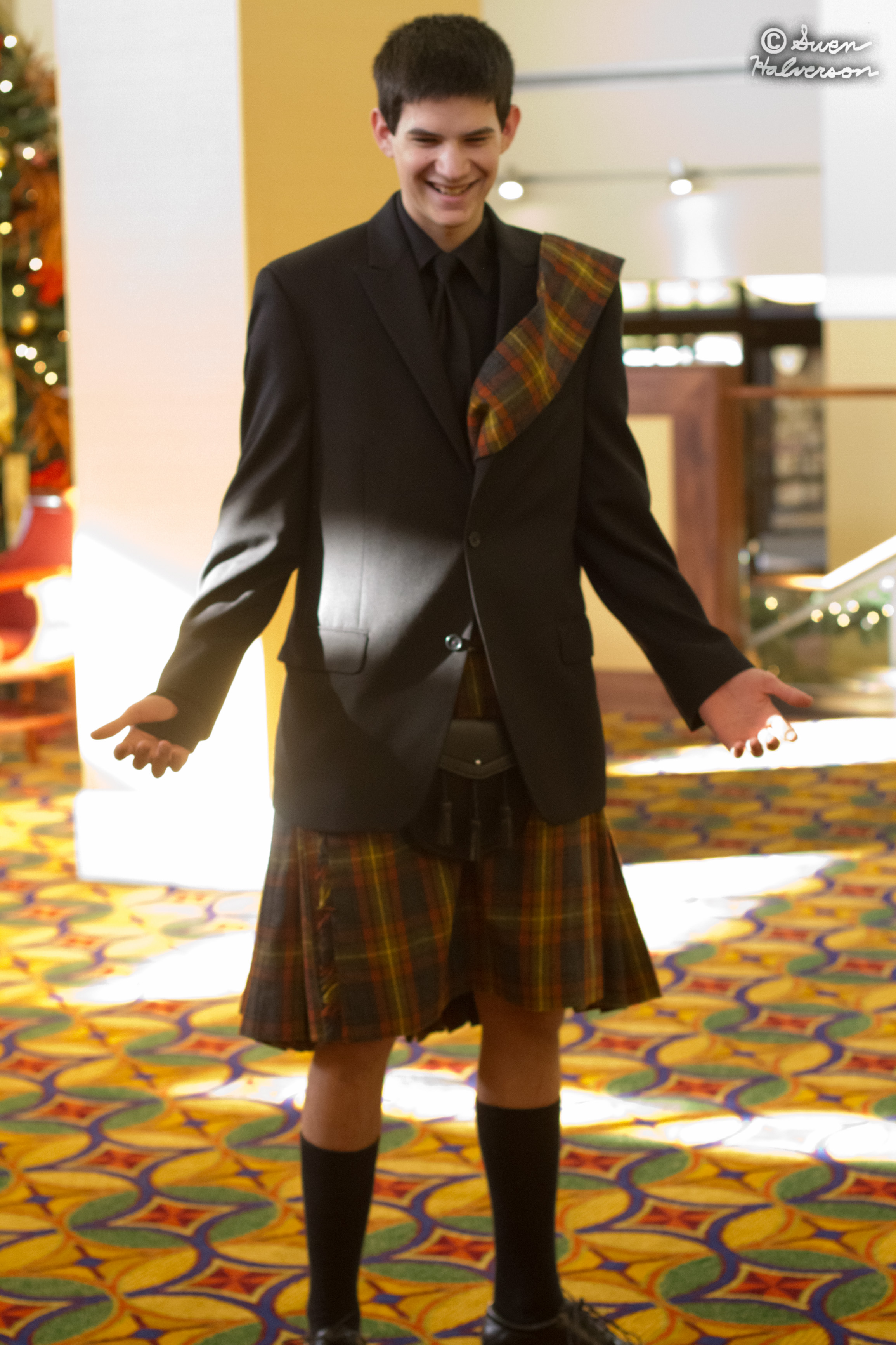 Theme: People <br>Title: Kilts Are Awsome