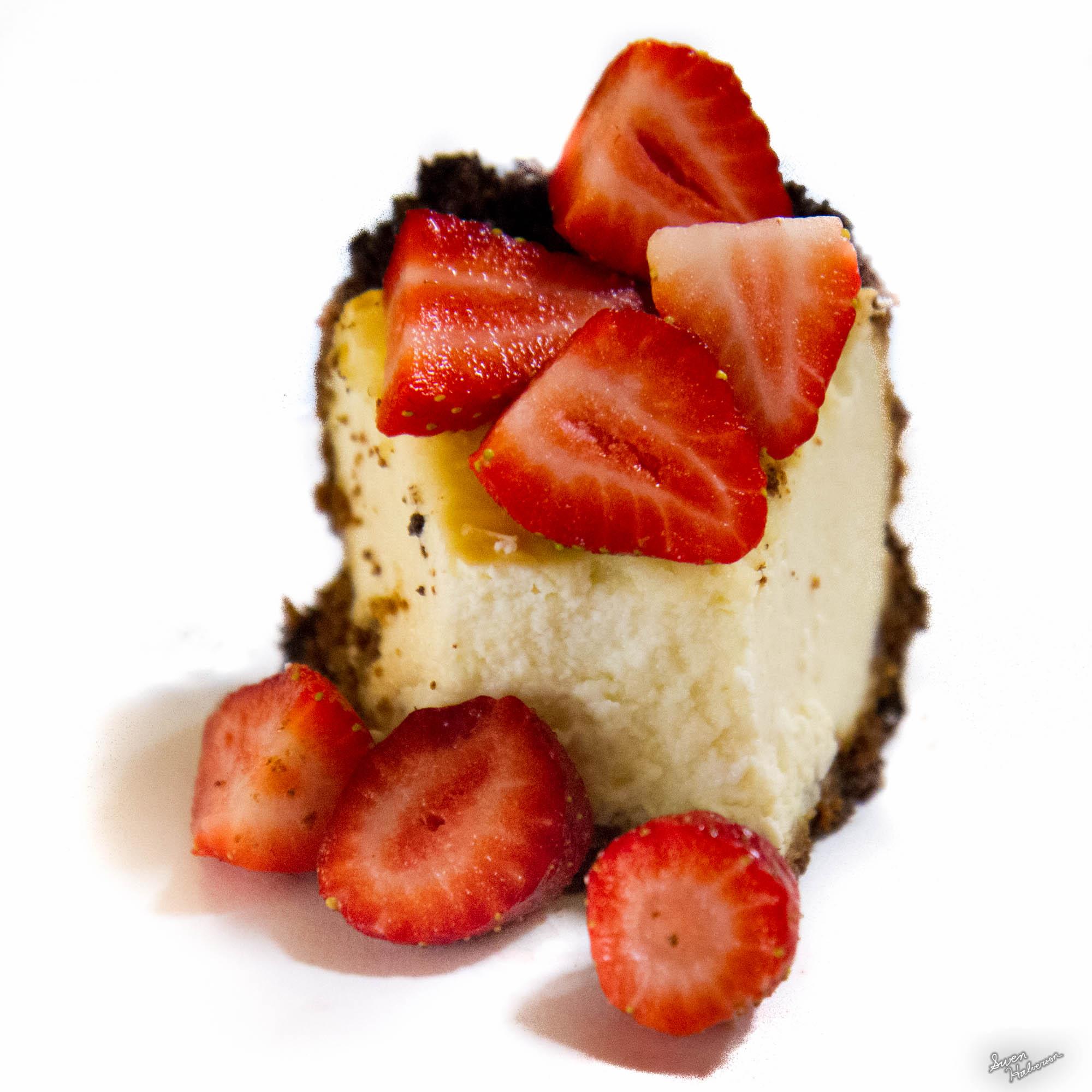 Theme: Miniature | Title: Strawberry Cheese Cake