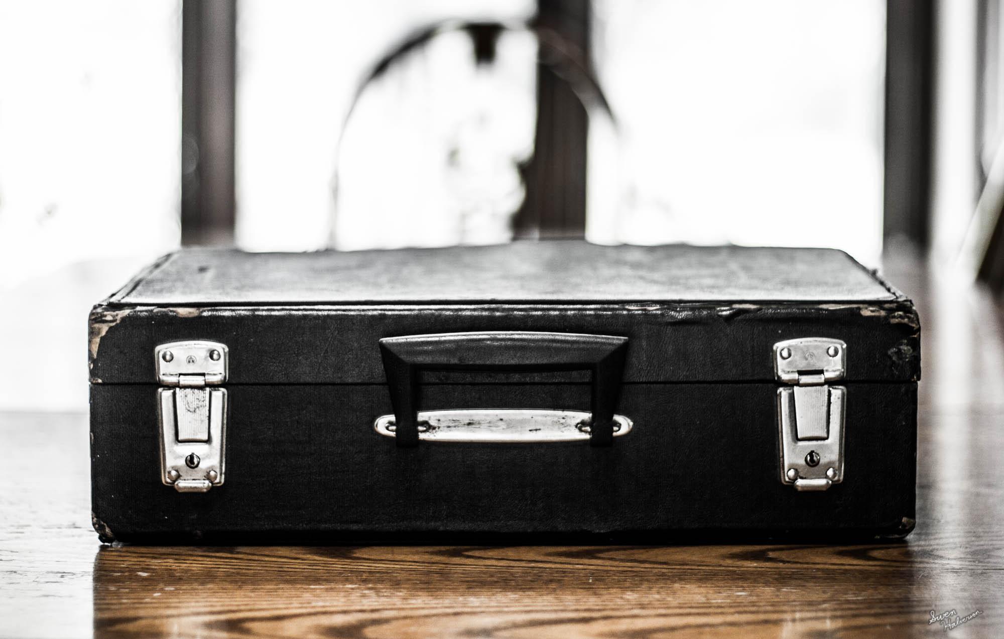 Theme: Briefcase |Title: A Briefcase Closed