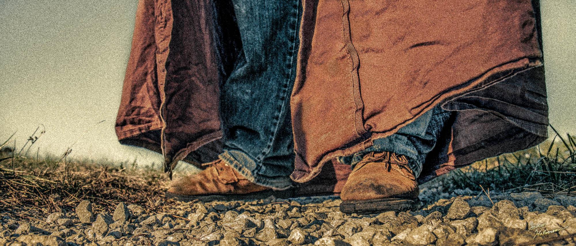 Theme: Cape | Title: Brown Cape & Shoes
