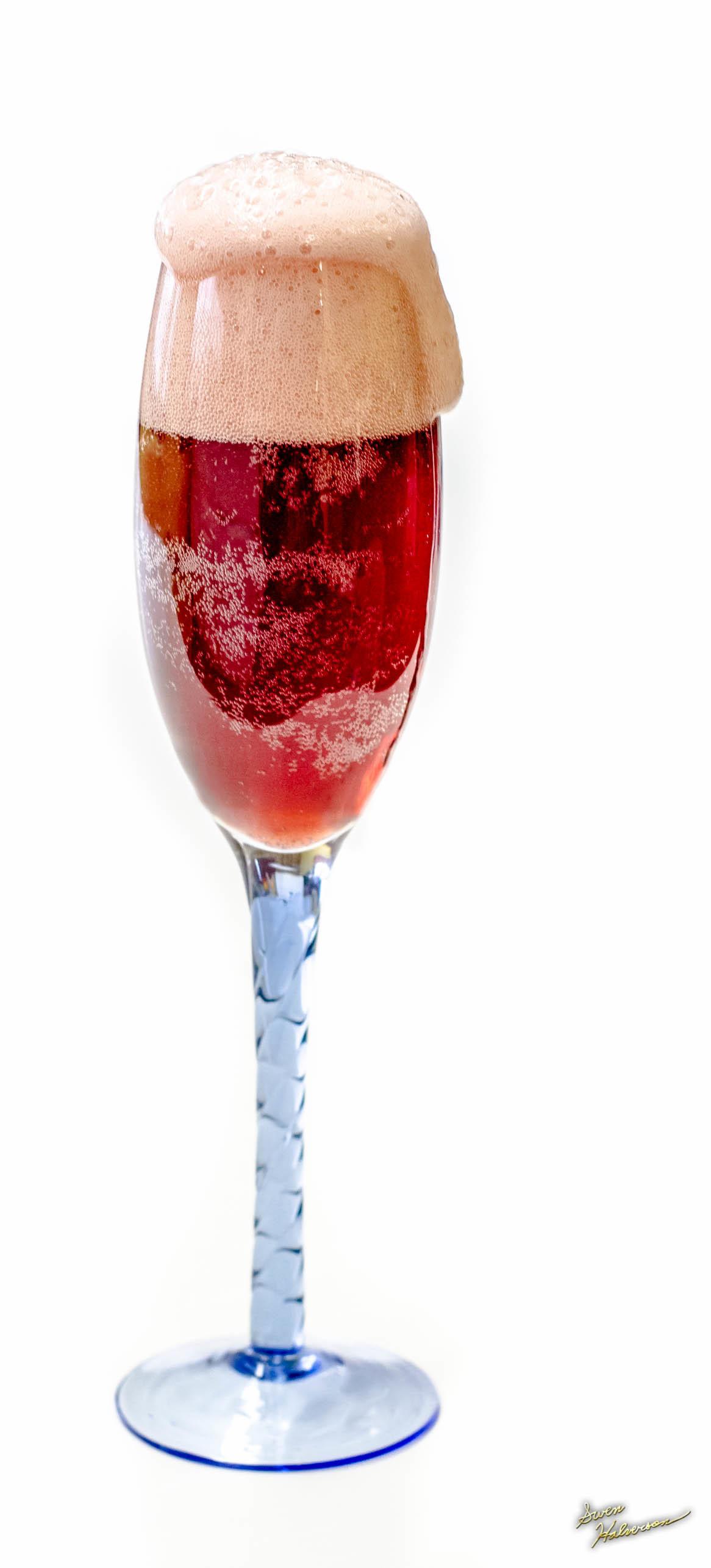 Theme: Sparkling | Title: Sparkling Cherry Juice