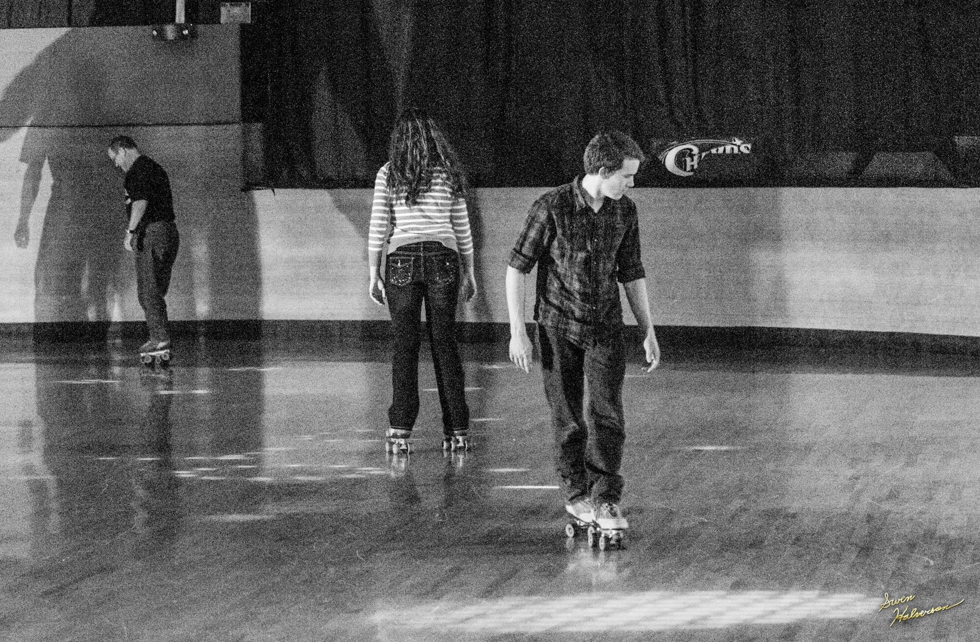 Theme:Skate| Title: Skating Backwards
