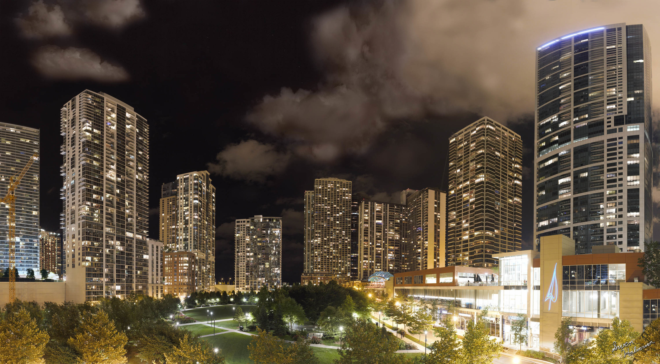 Theme: City | Title: Chicago Night
