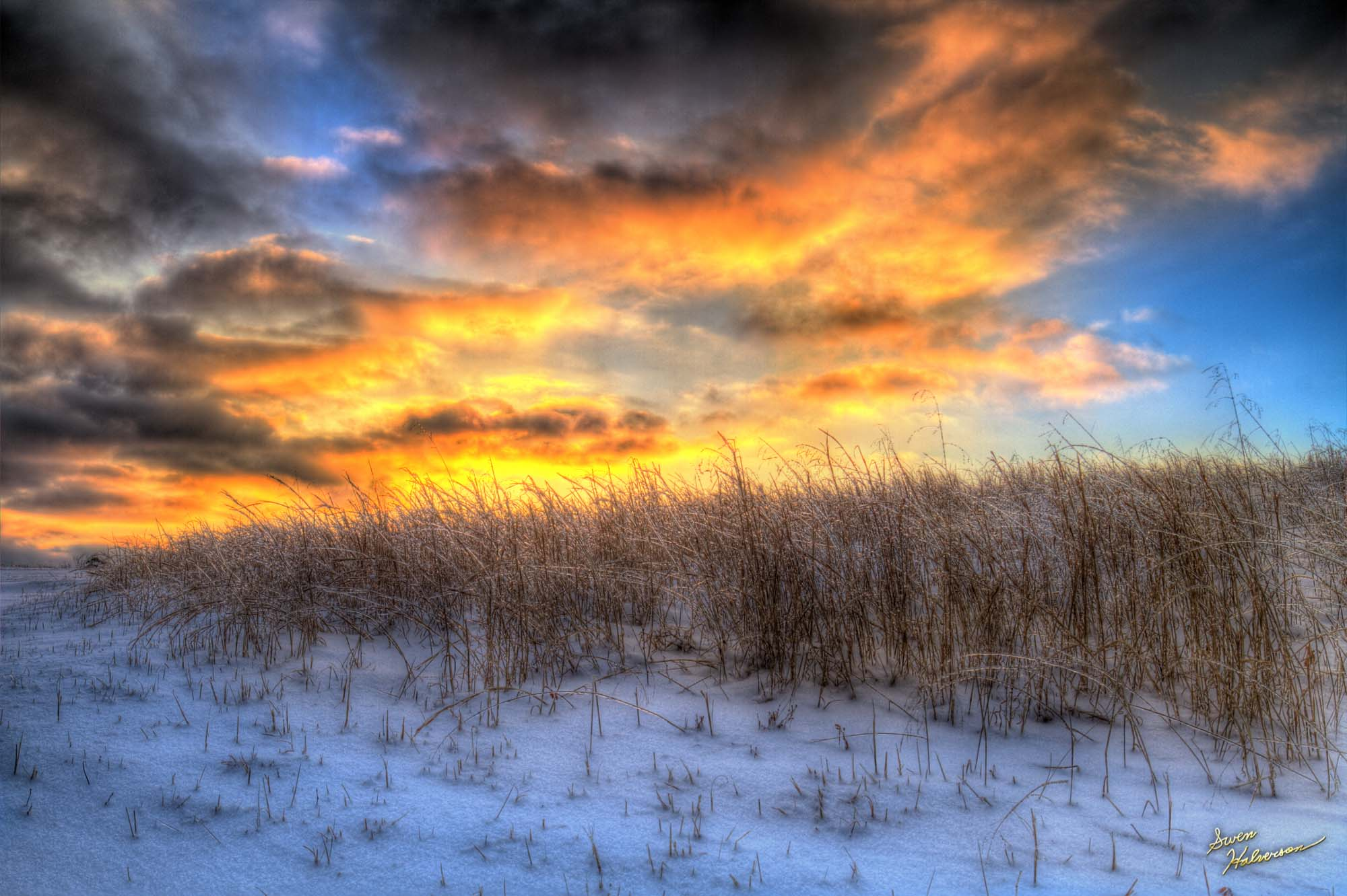 Theme: 7 | Title: Clouds of Fire and Grass of Ice