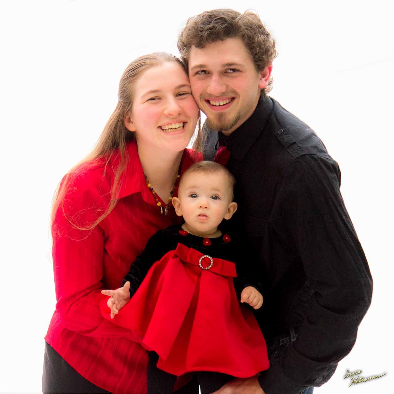 Theme: Tripod | Title: Houtz Family On White Formal