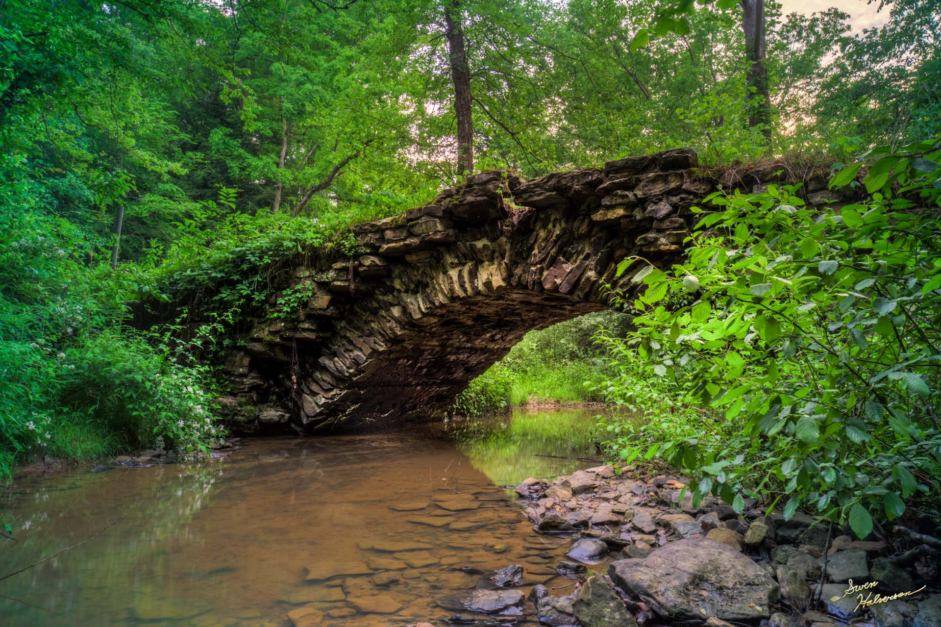 Theme: Bridge | Title: Rock Bridge 1