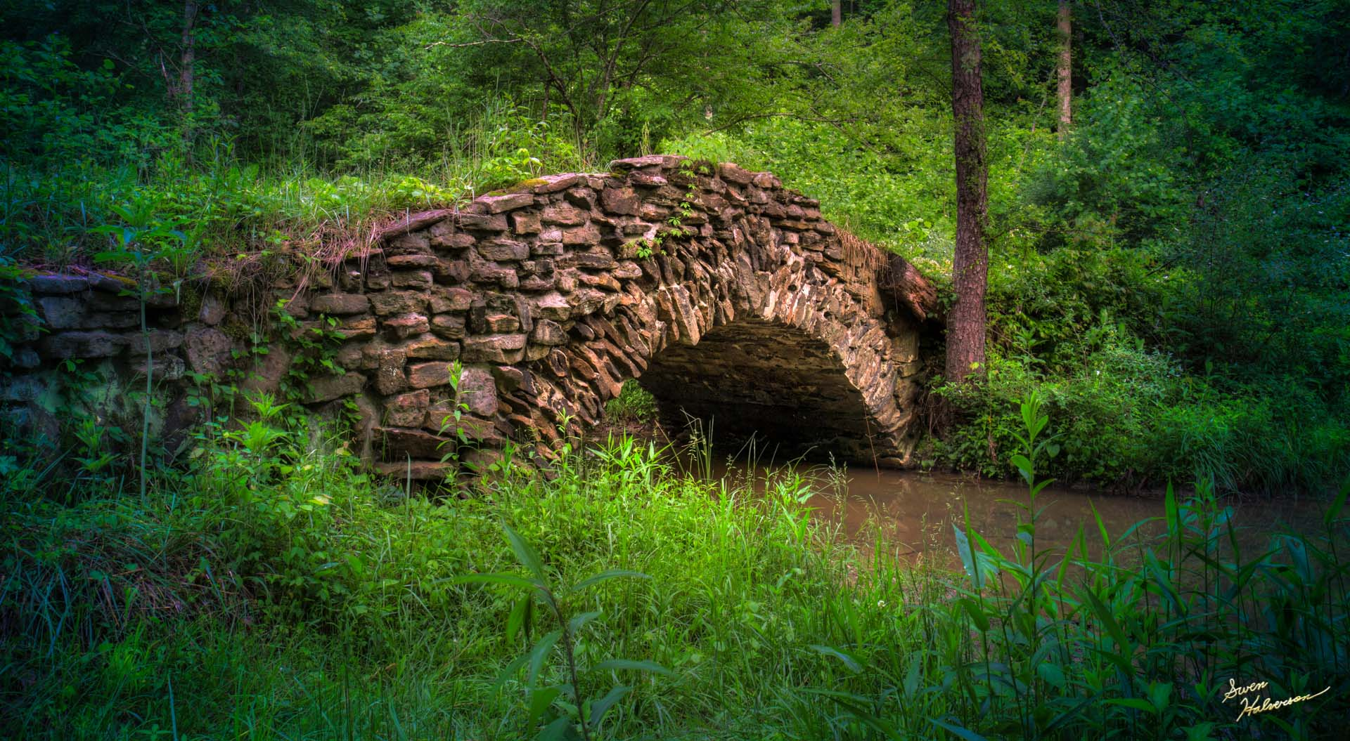 Theme: Bridge | Title: Rock Bridge 2