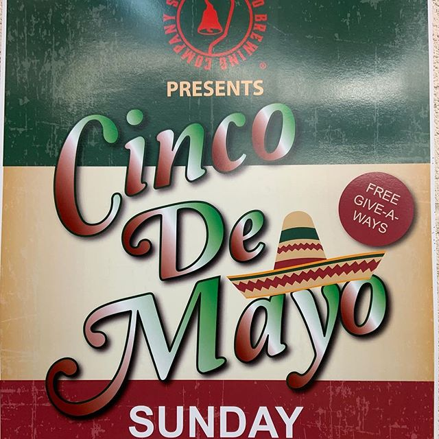 #cincodemayoparty on Sunday! Fun giveaways, DJ, food truck. #newbeerrelease will be the #mangoipa  turn that one into a #michelada #sanfernandobrewingco