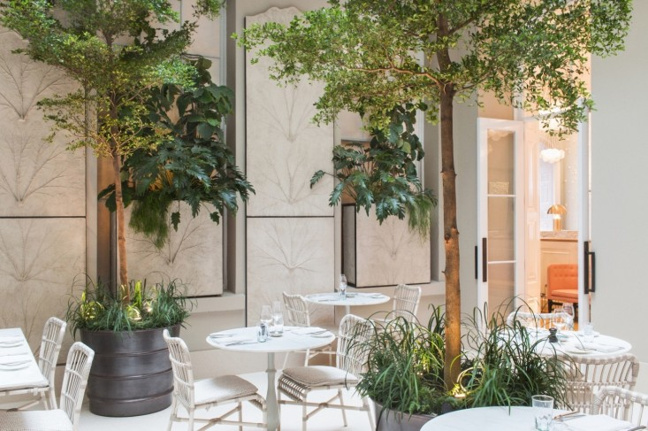 Skye Gyngell's Spring restaurant at Somerset House, London ( image via  Spring  )