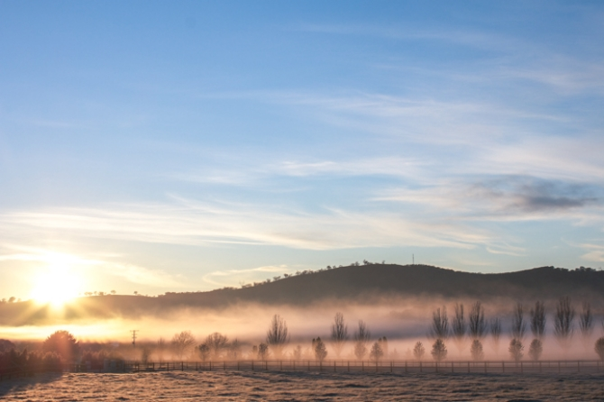sunrise via netherleighblog.com