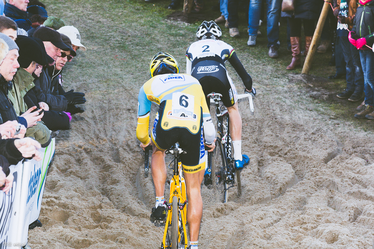 Niels Albert was the best in the sand.