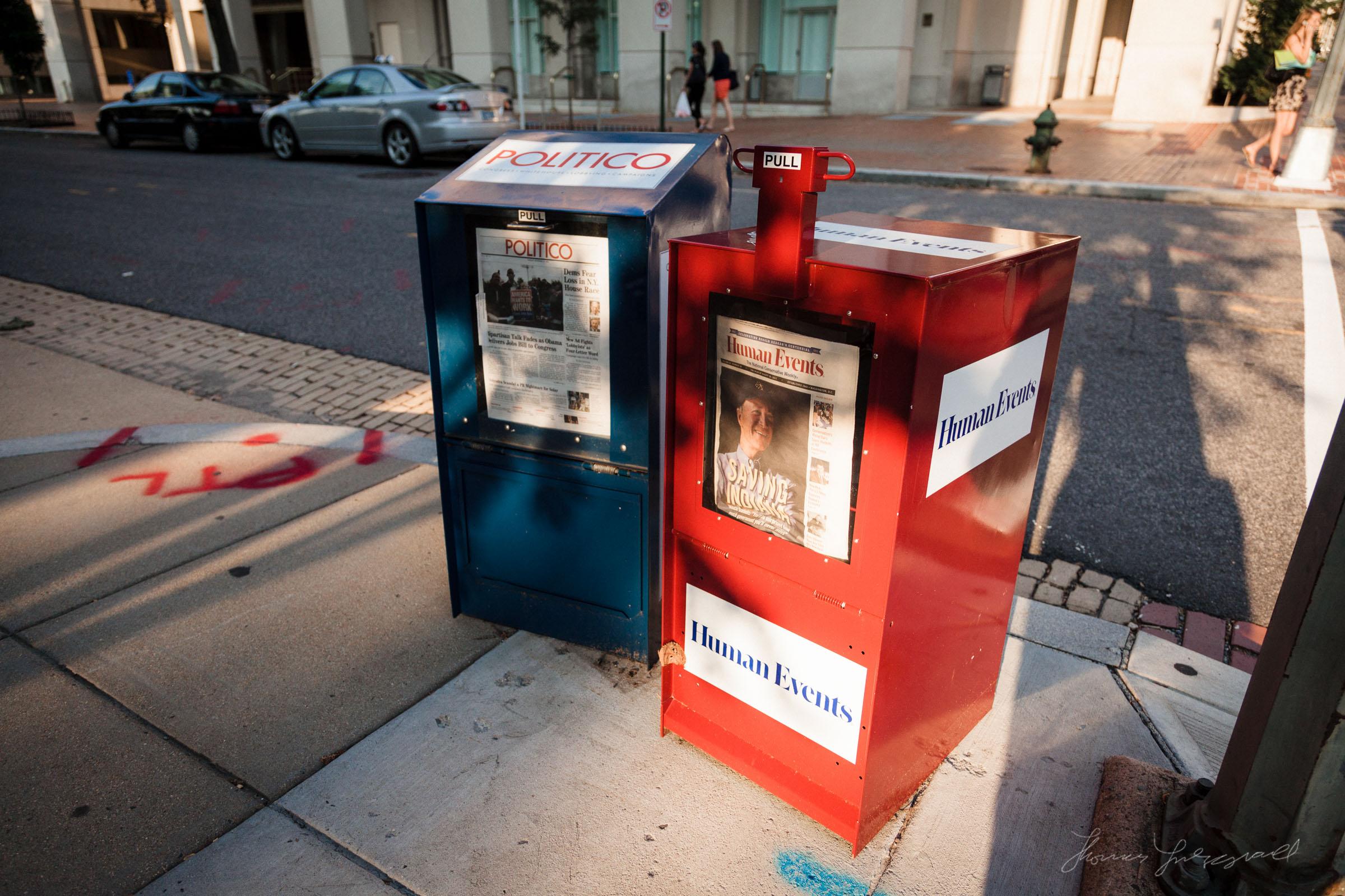 Newspaper Stands
