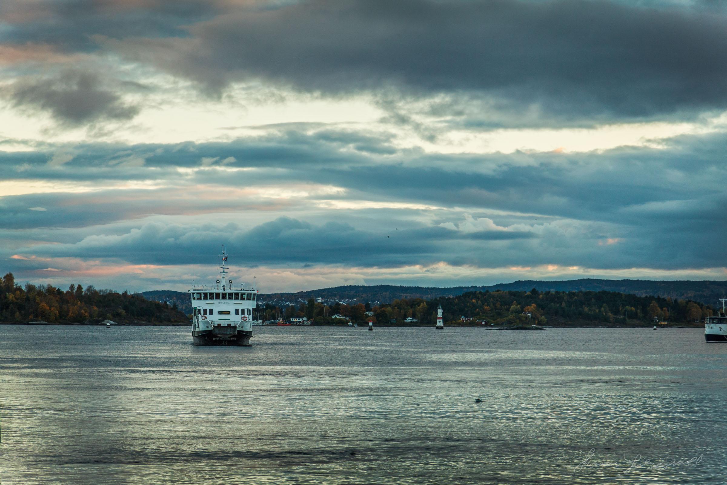 Ferry Docking in Oslo