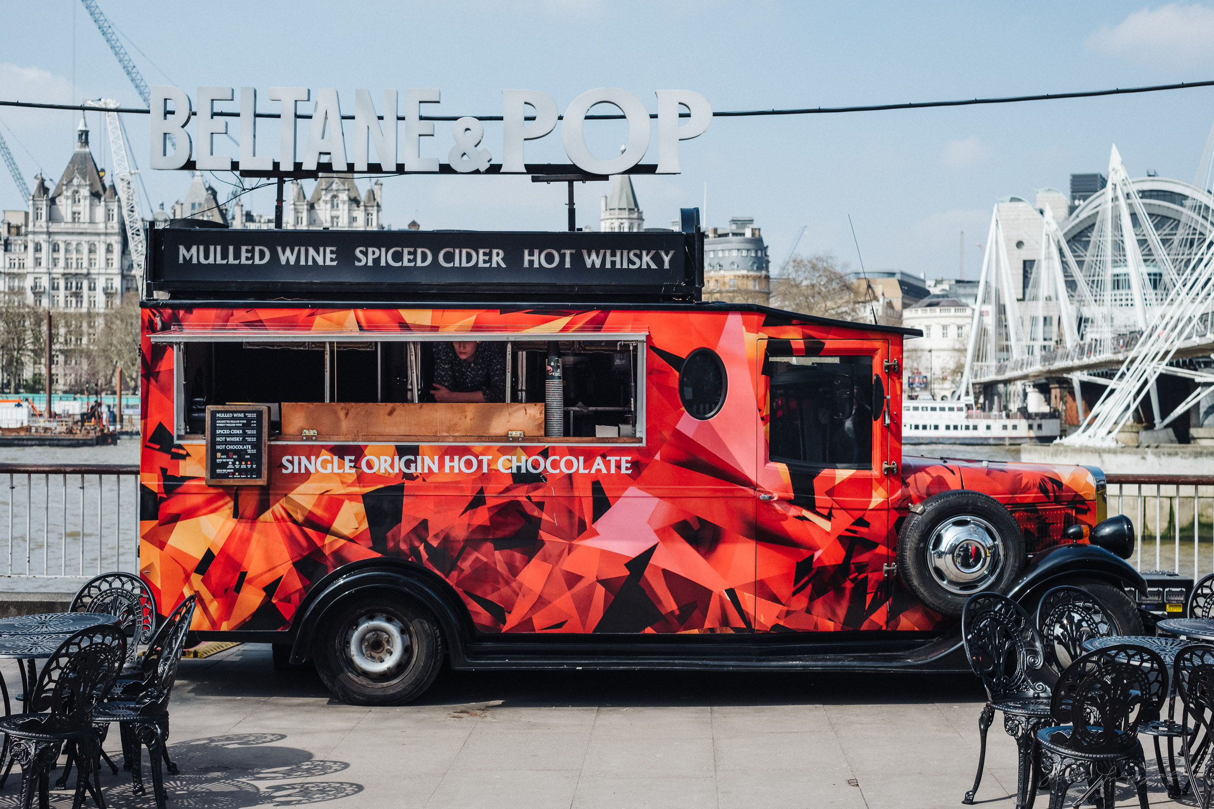 Food truck in London