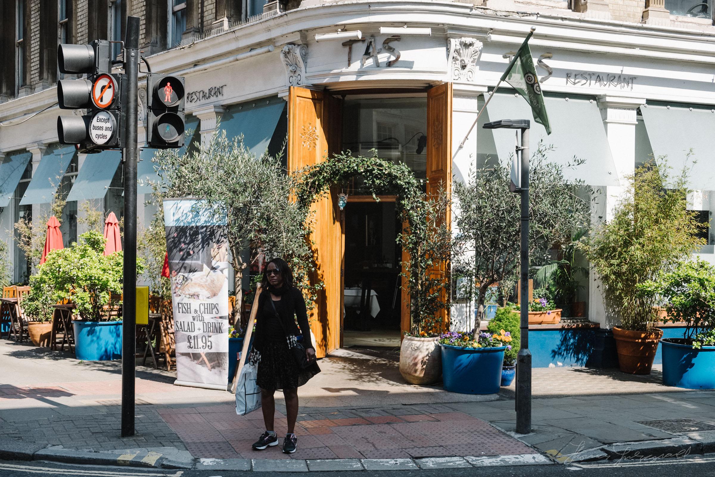 Fancy shop front in London