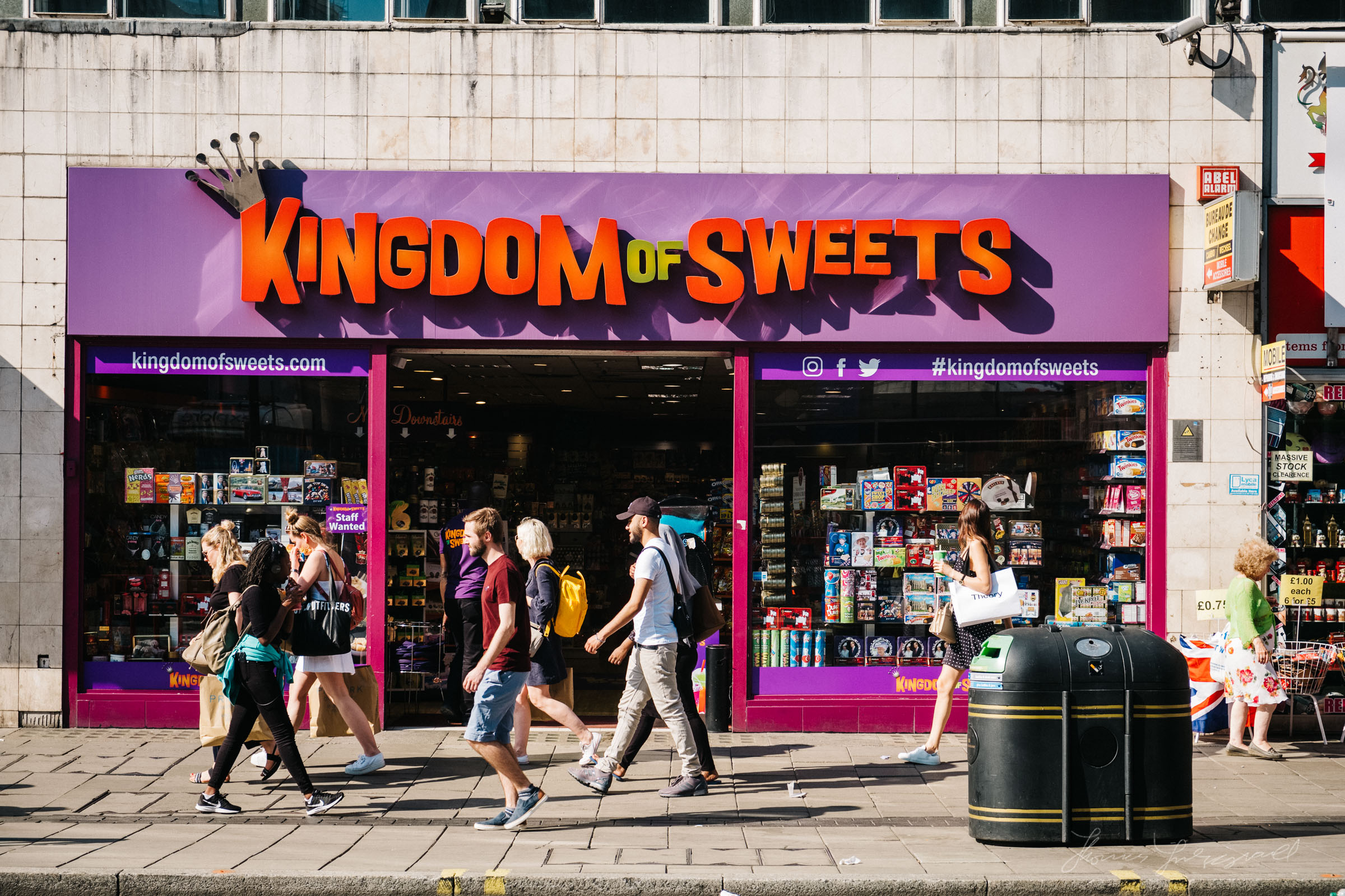 Kingdom of Sweets store in London