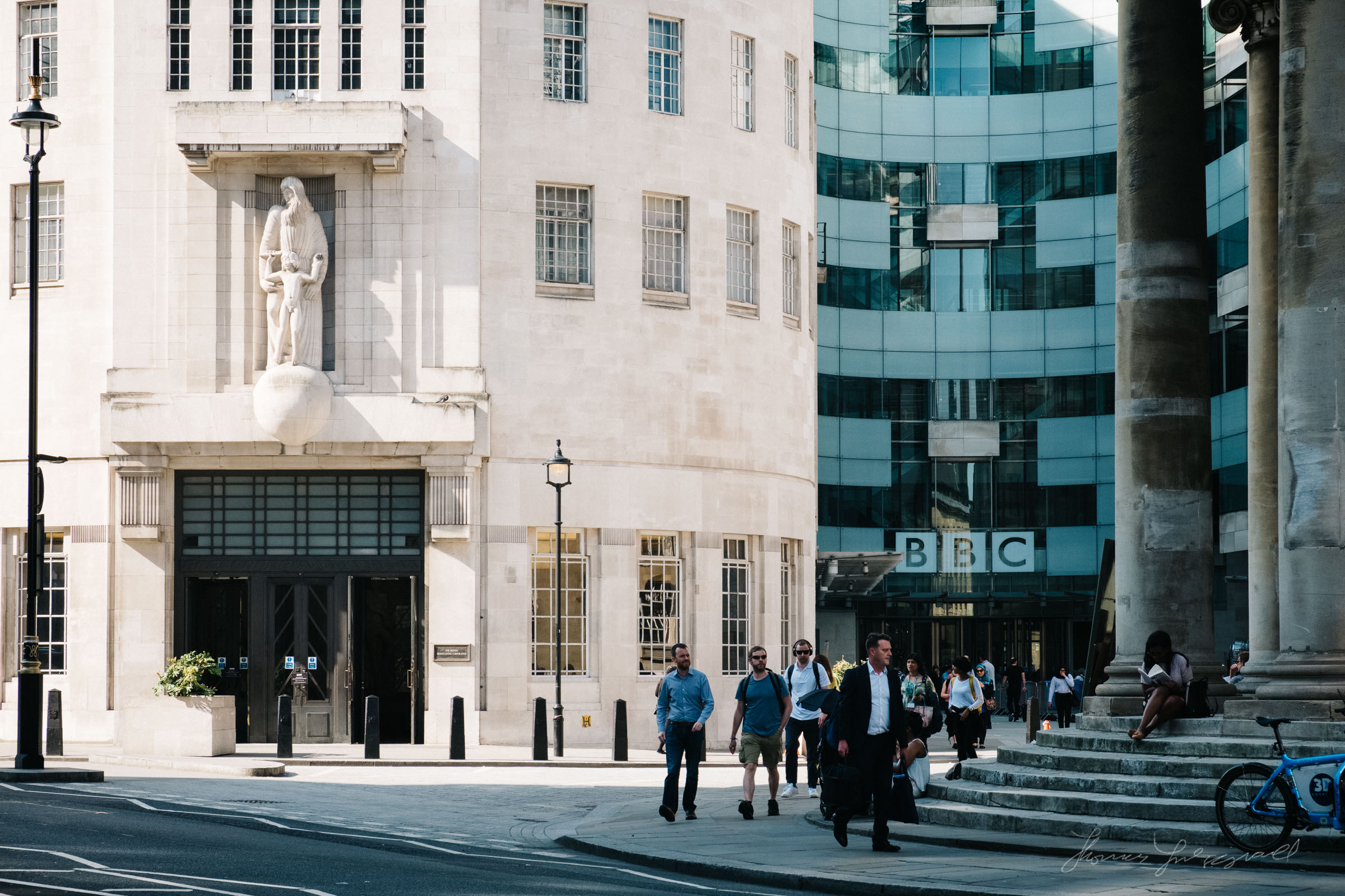 BBC building in London