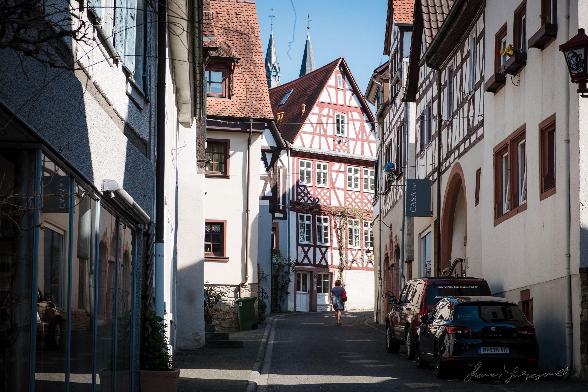 Heppenheim Old TownMedieval Streets in Heppenheim, Germany