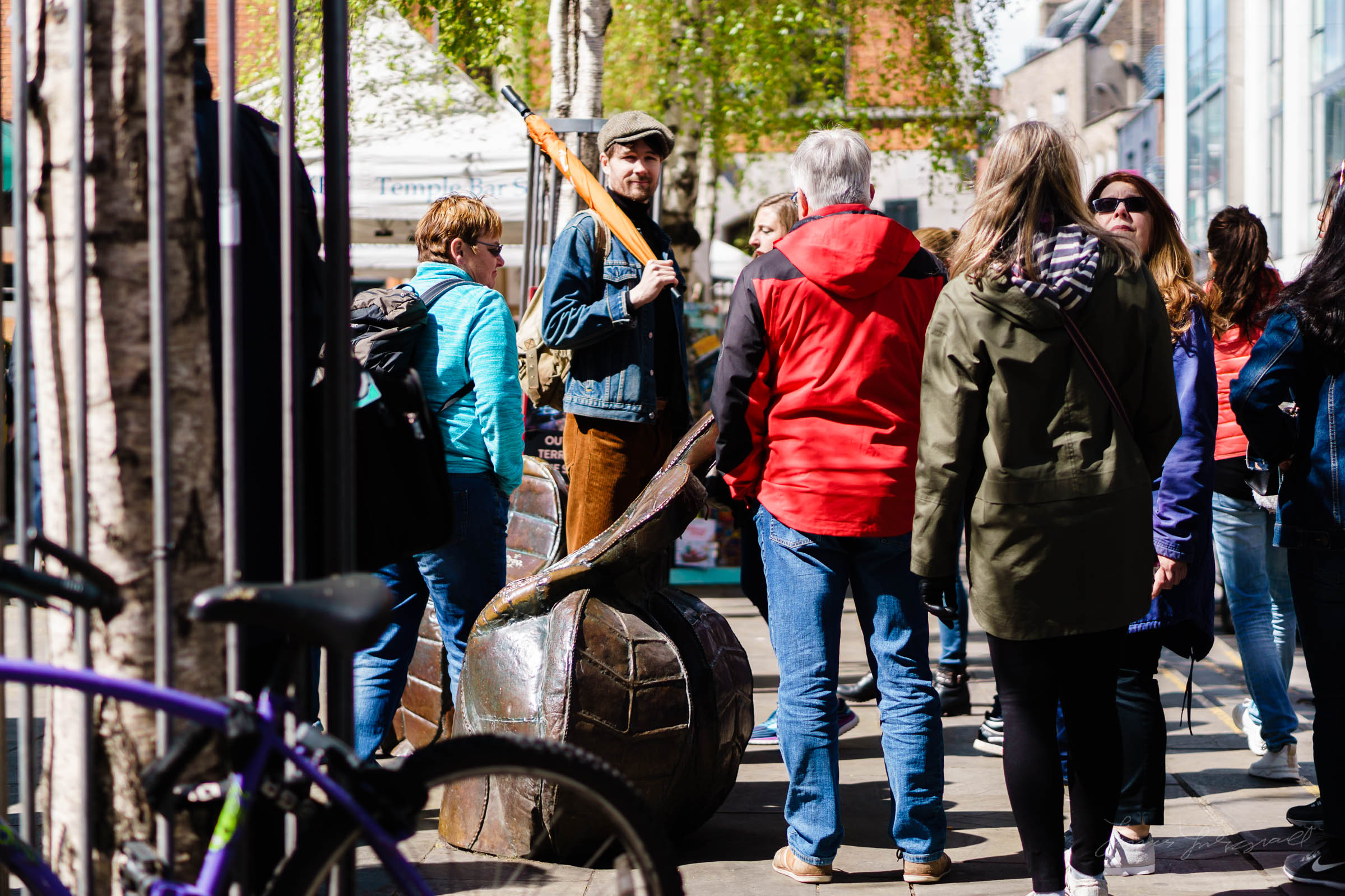 tour Group Street Photography in Dublin