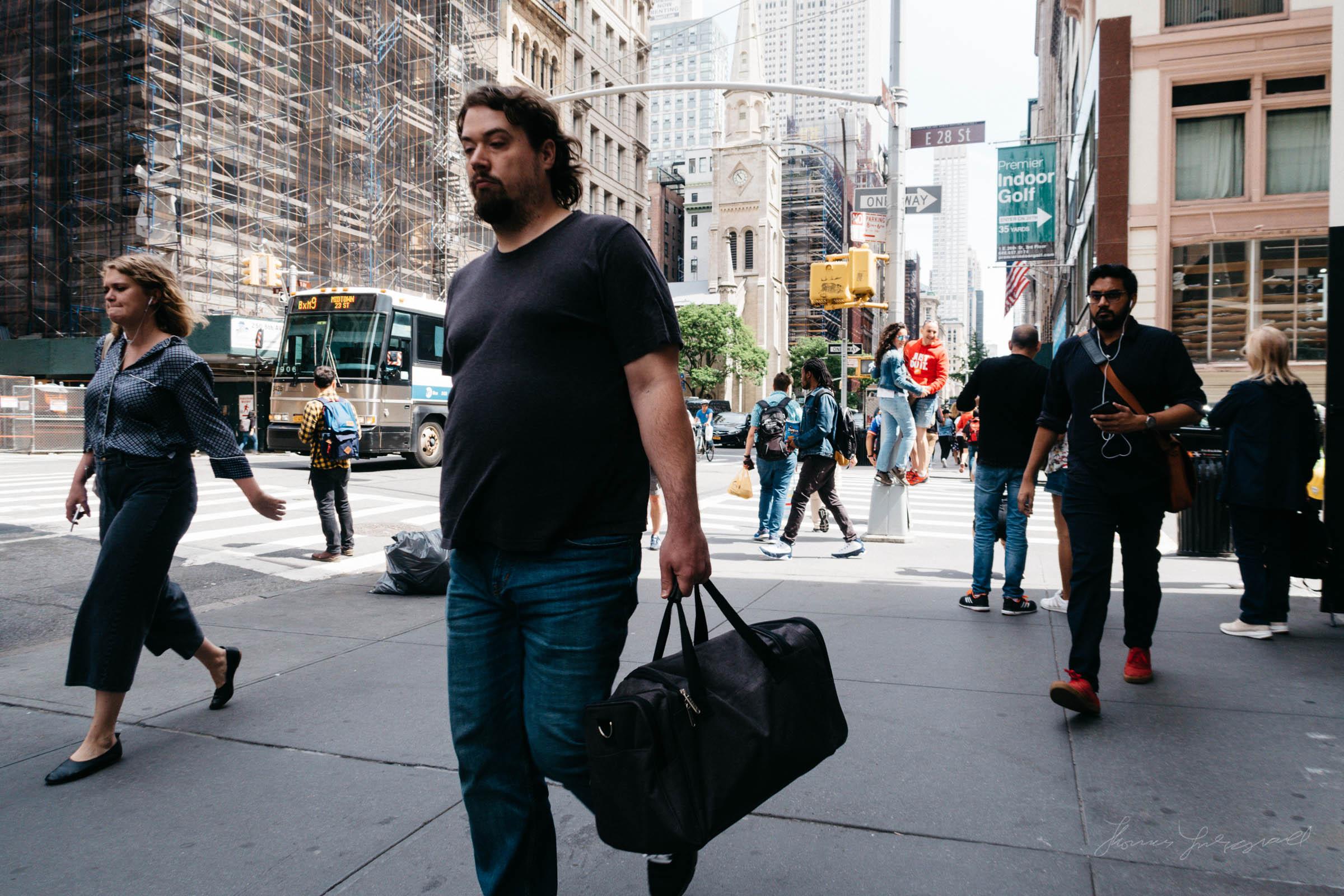 On 5th Avenue - Street Photo NYC