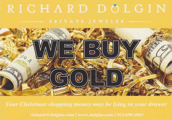 Buy Gold Postcard