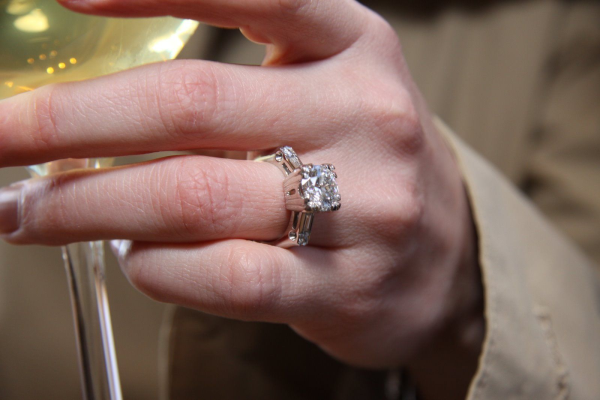 Rings on hand