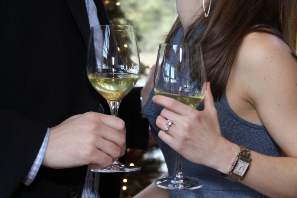 Ring and wine