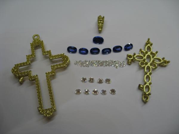 Assembling the cross