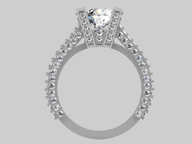 Rendering of ring
