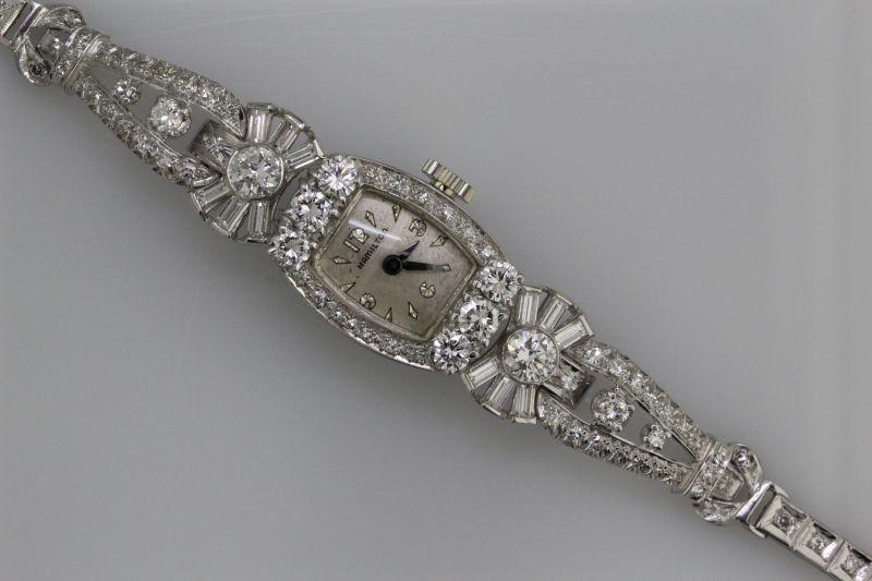 Platinum antique watch
